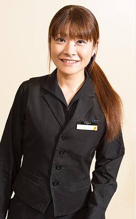フロントスタッフ(アルバイト) 丸山 亜希さん(10年目)イメージ