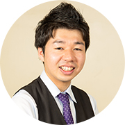 ホールスタッフ 小川 明さん